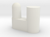 IKEA Bardu plastic wardrobe wheel holder 3d printed