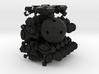 FTI Radiolarian 3 - face turning icosahedron 3d printed