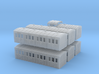 Early 1860s NLR (North London Railway) Coach Set 3d printed