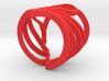 Gingko Ring 3d printed