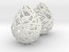 NITTING BALL EARINGS 3d printed
