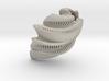 Mathematical Mollusca - Spiraling Organic Shell 3d printed