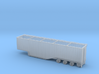 N scale 1/160 Woodchip trailer 53ft possum-belly 3d printed