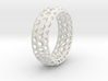 Hexagon Pattern Bracelet Thin Version 3d printed