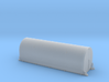 N scale 1/160 NASA SRB Flatcar Cover (1-piece) 3d printed