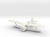 1/144 Polikarpov I-153, Wheels retracted 3d printed