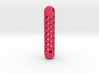 tritium keychain honeycomb 3d printed