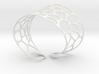 Voronoi Bracelet 3d printed