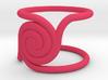 Twirltwirl - Ring - size54 - diam17,2mm 3d printed