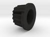 round knob 3d printed