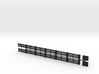 Small-star railing HO 3d printed
