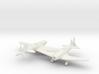 1/144 Soviet MiG 3 x2 3d printed