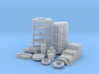 1/25 BBC Basic Block Kit (No Mech Fuel Pump) 3d printed