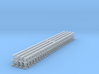 N Scale Gresley Buffer (Clipped) Pack of 100] 3d printed
