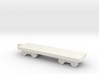 1/700 Flat Boxcar 3d printed