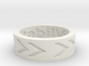 by kelecrea, engraved: ViveRe Inimitabile 3d printed