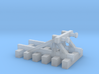 Buffer Stop - Flex Track - T - 1:450 3d printed