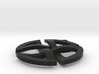 Celtic Circle Necklace 3d printed