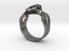 Lotus Ring 3d printed
