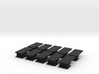 iPad Mini Abacus Case Plugs 10x 3d printed