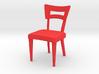 1:24 Dog Bone Chair 3d printed