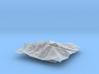 6'' Longs Peak Terrain Model, Colorado, USA 3d printed