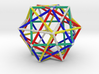 Star Cage Cubes 100mm Sacred Geometry 3d printed