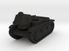 Vehicle- Renault R40 Tank (1/87th) 3d printed