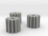 3x 12-Tooth High Strength Pinion 3d printed