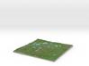 Terrafab generated model Sat May 24 2014 10:31:09  3d printed