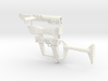 1/6 scale reptilian laser rifle 3d printed