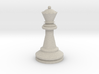 Large Staunton Queen Chesspiece 3d printed
