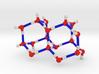 Water Molecule Matrix Model Color Small 3d printed