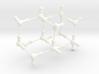 Water Molecule Matrix Model UniColor Plastic Small 3d printed