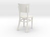 1:24 Restaurant Chair (Not Full Size) 3d printed