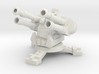 28mm Greenskin Quad AA Turret 3d printed