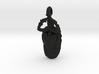 6cm Scarab Beetle Pendant - v3  3d printed