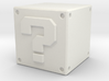 Super Mario Question Block 3d printed