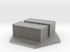 Shipping Containers (1/285th 6mm Scale) 3d printed