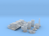 1/18 SBC 3X2 Stromberg Intake System 3d printed