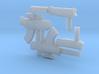 Hitman Weapons for kidrobot Bot 3d printed