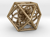 Cuboctahedron With Flower Of Life 3d printed