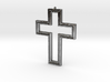 Holy Cross Pendant 3d printed