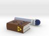Zelda Fan Art: TLoZ: Magic Book And Rod 3d printed