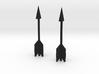 Zelda Fan Art: TLoZ: 2 Arrows 3d printed