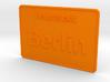 Hauptstadt Berlin 3d printed