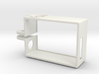 Rugged GoPro Hero3 vertical frame 3d printed