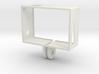 GoPro Hero3 Frame (reversed) 3d printed