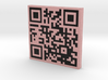 QRCode -- http://www.wikipedia.org 3d printed