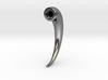 Magnetic Horn Earring (Horn) 3d printed